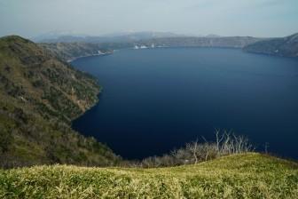 初日 摩周湖