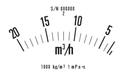 フラプター流量計