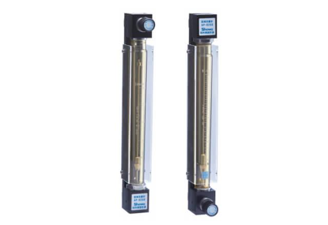 パネル取付用 面積流量計(ニードル弁付き) AP-0250