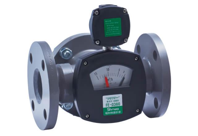 フラプター流量計 (接点付き) FE-0360