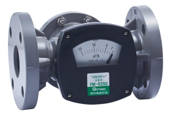 PVC製フラプター流量計(現場指示)FM-0350